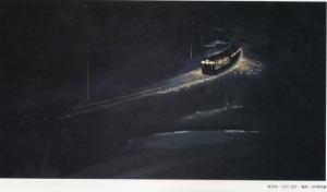 "Figura 5: Imagen de ""A cinco centímetros por segundo) extraída del art book  ""The Sky of The Longing for Memories""."